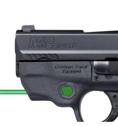 Pistola SMITH & WESSON M&P9 Shield M2.0 láser verde