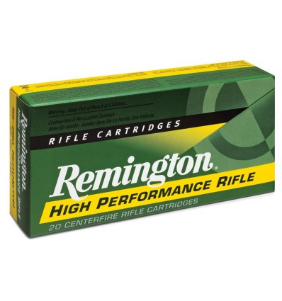 Munición metálica REMINGTON HIGH PERFORMANCE RIFLE - 222 Rem. - 50 grains